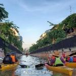 """Ong Ang运河改造成为""""网红打卡地"""""""